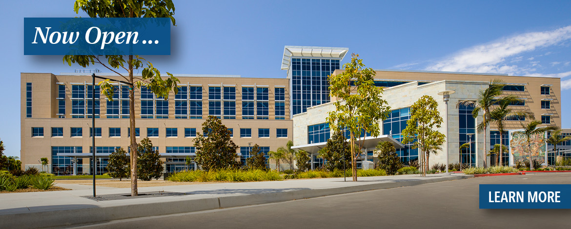 The New Community Memorial Hospital is Now Open.