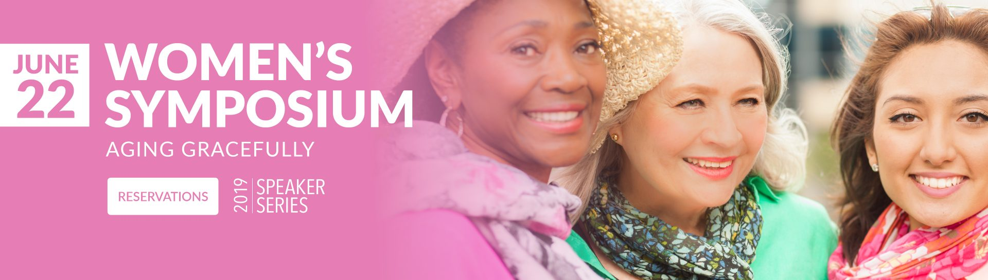 Make reservations for the Women's Symposium on June 22