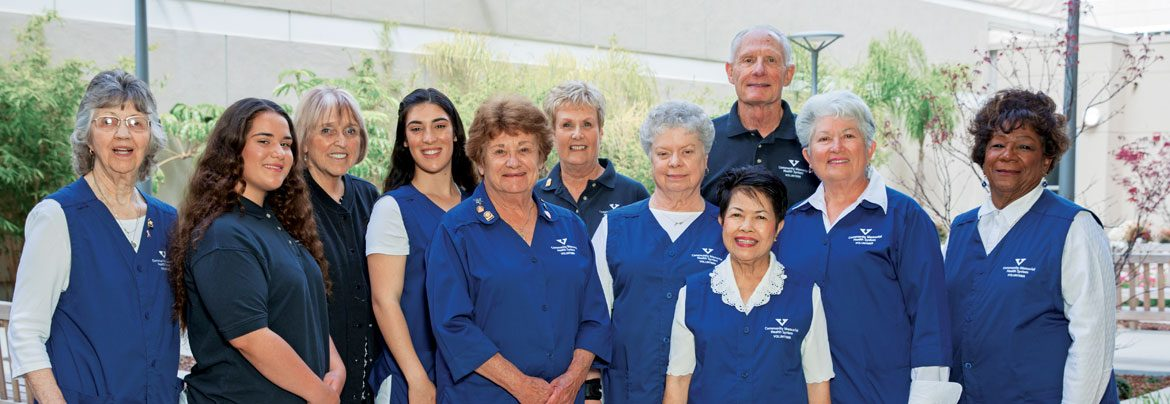 Men and women of the CMH Auxiliary
