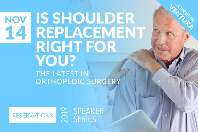 Is shoulder replacement right for you? The latest in orthopedic surgery