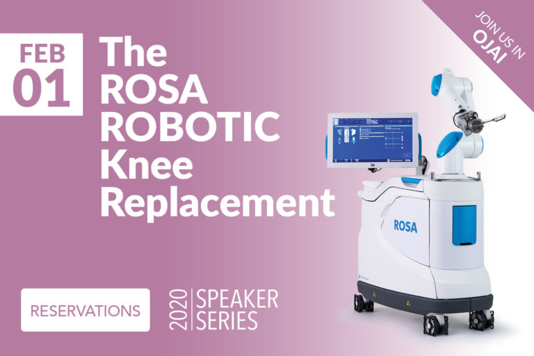 The Rosa Robotic knee replacement