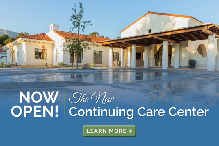 The New Continuing Care Center is Now Open