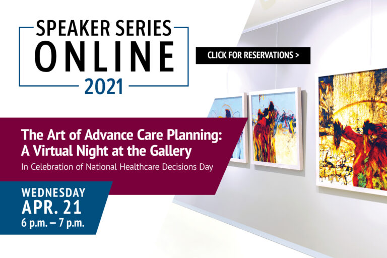 Click here to register for the advance care planning seminar