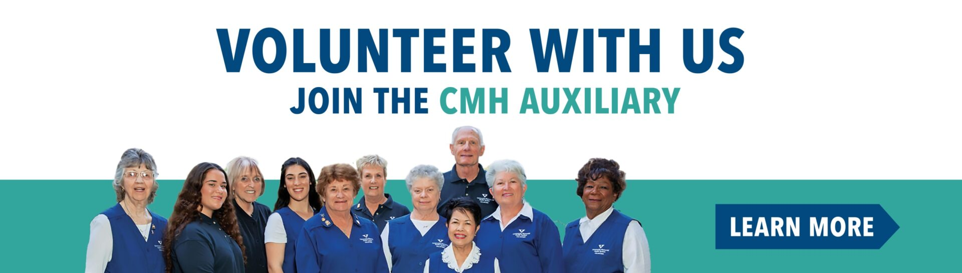 Volunteer With Us. Join the CMH Auxiliary